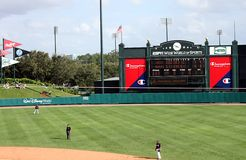 Het stadion van de kampioen bij de Brede Wereld ESPN van Sporten royalty-vrije stock afbeelding