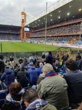 Het stadion van de Sampdoriavoetbal royalty-vrije stock afbeelding