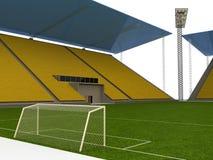 Het stadion van de voetbal â2 Royalty-vrije Stock Afbeelding