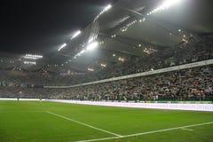 Het stadion van de voetbal Stock Foto