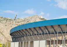 Het stadion van de voetbal in Palermo Stock Afbeeldingen