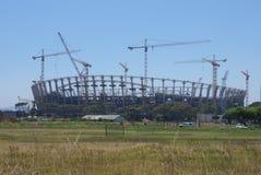 Het stadion van Greenpoint in aanbouw Stock Afbeelding