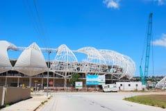 Het stadion van het de kop 2010 voetbal van de wereld Stock Afbeelding