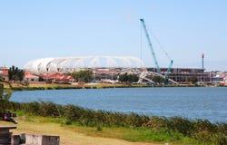Het stadion van het de kop 2010 voetbal van de wereld Stock Fotografie