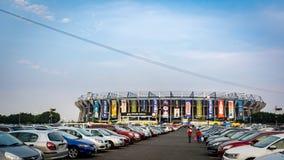 Het Stadion van het de Voetbalvoetbal van Estadioazteca in Mexico-City Royalty-vrije Stock Foto