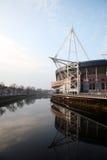 Het Stadion van het Millennium van Cardiff royalty-vrije stock afbeeldingen