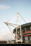 Het Stadion van het Millennium van Cardiff Stock Afbeeldingen