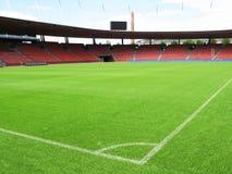 Het stadion van het voetbal Stock Afbeelding