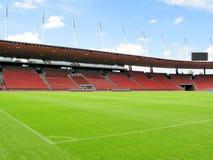 Het stadion van het voetbal Stock Foto's