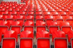 Het stadion van het voetbal stock fotografie