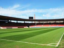 Het stadion van het voetbal Stock Foto