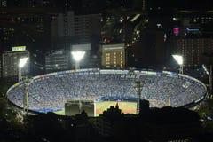 Het stadion van het Yokohamahonkbal stock afbeelding