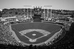 Het Stadion van Kauffman - de Stad Royals van Kansas Royalty-vrije Stock Afbeelding