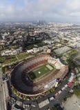 Het Stadion van Los Angeles Coliseum Stock Foto