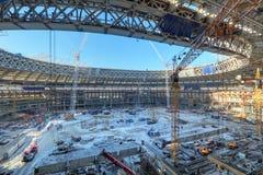 Het stadion van Luzhniki Stock Afbeelding