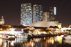 Het Stadion van Miami van Bayside royalty-vrije stock foto