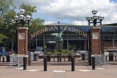 Het Stadion van Michigan - het Grote Huis Stock Foto