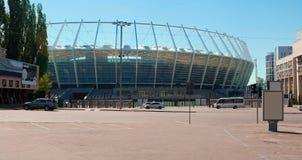 Het Stadion van Olympisky in Kiev Stock Afbeelding