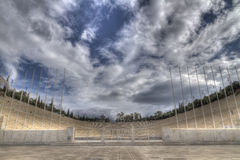 Het stadion van Panathenaic dat ook als kallimarmaro wordt bekend Royalty-vrije Stock Afbeelding