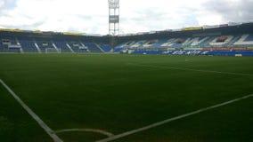 Het stadion van Pec Zwolle van de binnenkant stock afbeeldingen