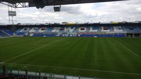 Het stadion van Pec Zwolle van de binnenkant royalty-vrije stock afbeeldingen