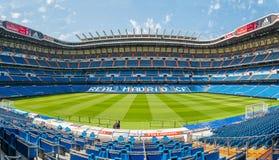 Het Stadion van Santiago Bernabeu Stock Foto's