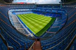 Het Stadion van Santiago Bernabeu Stock Afbeeldingen