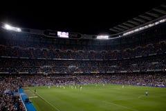 Het Stadion van Santiago Bernabeu Stock Foto