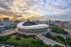 Het Stadion van Shanghai Royalty-vrije Stock Afbeeldingen