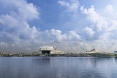 Het Stadion van Singapore Stock Afbeeldingen