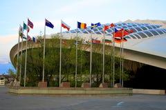 Het Stadion van sporten Stock Afbeelding