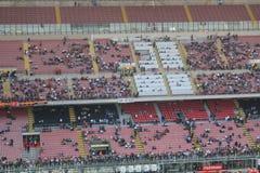 Het stadion van Stadio Giuseppe Meazza in Milaan, Italië Stock Afbeeldingen