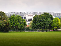 Het stadion van Twickenham, Londen Stock Fotografie