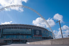 Het stadion van Wembley Stock Foto