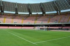 Het stadiondoel van San Paolo stock afbeeldingen