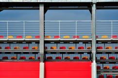 Het stadiontribune van de sport Stock Afbeeldingen