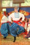 Het stadium van Ð ¾ n is dansers en zangers, actoren, refreinleden, dansers van korpsen DE ballet, solisten van het Oekraïense Ko stock afbeelding