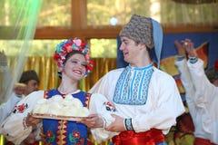 Het stadium van Ð ¾ n is dansers en zangers, actoren, refreinleden, dansers van korpsen DE ballet, solisten van het Oekraïense Ko stock foto