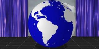 Het Stadium van de aarde royalty-vrije illustratie