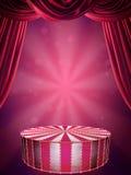 Het stadium van het circus vector illustratie