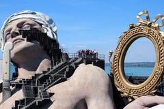 Het Stadium van het Festival van Bregenz, Oostenrijk Royalty-vrije Stock Foto's