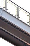 Het stadium van het staal in gekenmerkt patroon Stock Foto