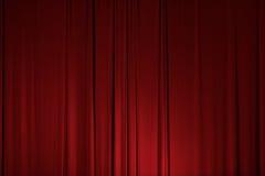 Het stadiumtheater drapeert Gordijnelement Stock Fotografie