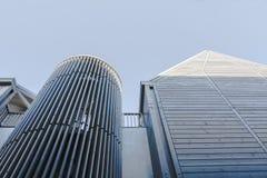 Het stadscentrum begraaft St Edmunds, Suffolk, het UK Stock Afbeeldingen