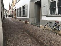 Het stadscentrum van Bazel royalty-vrije stock afbeelding