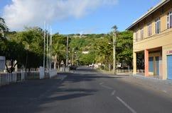 Het stadscentrum van Haven Mathurin Royalty-vrije Stock Afbeeldingen