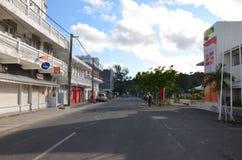 Het stadscentrum van Haven Mathurin Royalty-vrije Stock Afbeelding