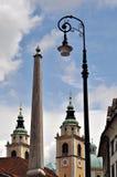 Ljubljana, Slovenië Stock Foto's