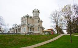 Het Stadsmuseum in Druskinenkay, Litouwen Royalty-vrije Stock Foto's