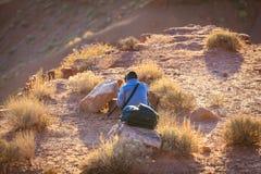 Het Stammenpark van de Monumentenvallei, Arizona, de V.S. royalty-vrije stock foto
